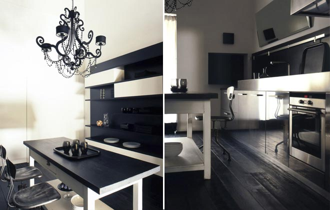 Black and white inspiration, pavimenti e rivestimenti in bianco e nero