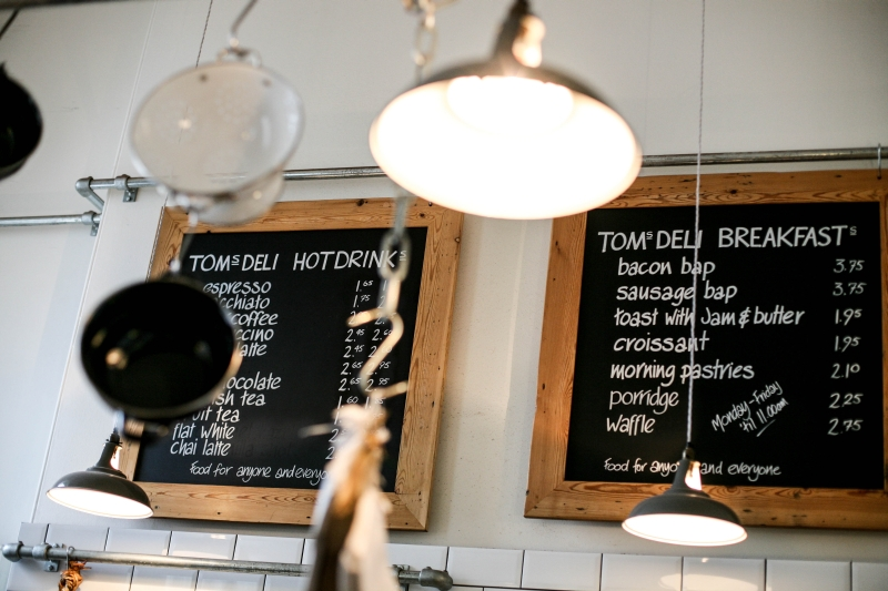 Tom'sDeli in Somerset House