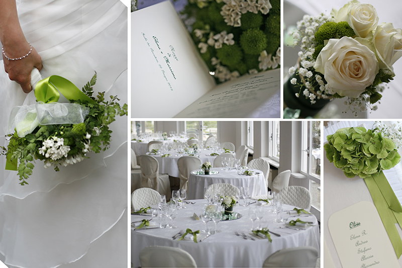 green wedding, un matrimonio in verde
