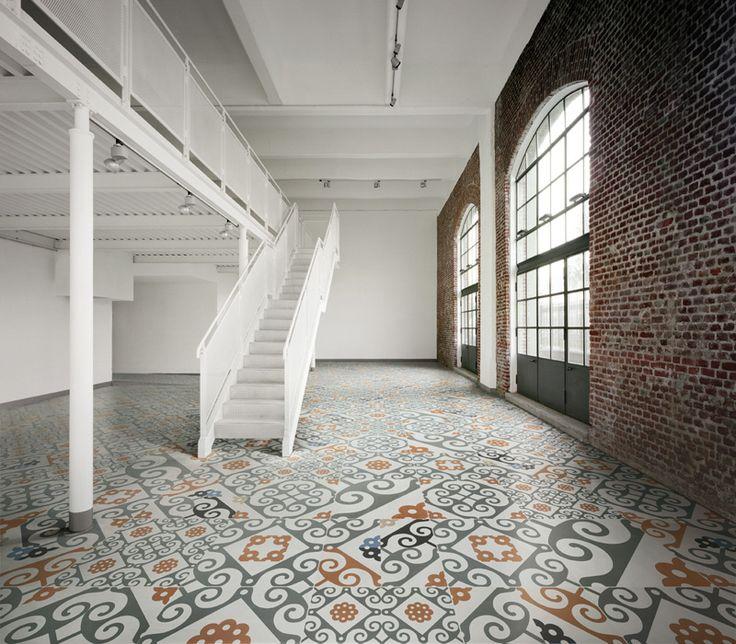 Pavimenti vintage vecchi parquet cementine e marmette for Floor and decor porcelain tile