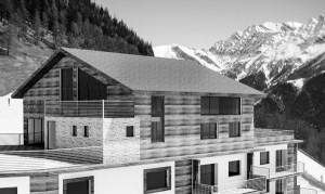 Un architetto a lavoro, progetto Valle d'Aosta