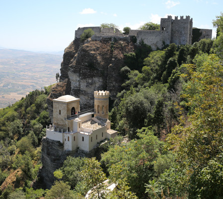 La Torretta Pepoli a Erice  – restauro e recupero