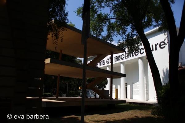 Vista Maison Domino - padiglione Italia - biennale architettura 2014