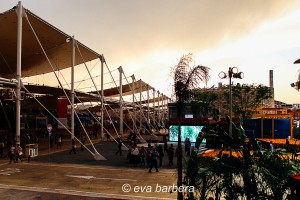 la copertura del decumano - expo 2015 milano