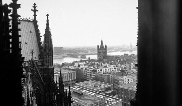 Colonia, vista dalla torre del duomo