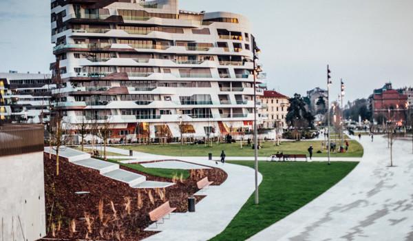 Residenze City Life progetto Zaha Hadid